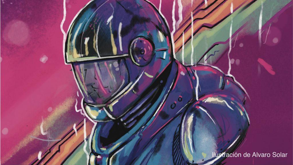 Captain Bastred-Ilustración de Alvaro Solar